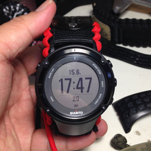 Customize Paracord Strap/傘繩錶帶訂做 (SUUNTO AMBIT2)
